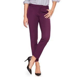 Banana Republic | Sloan Fit Slim Ankle Pant Purple